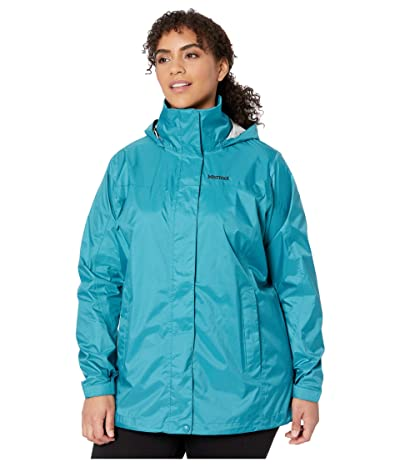 Marmot Plus Size PreCip(r) Eco Jacket (Enamel Blue) Women