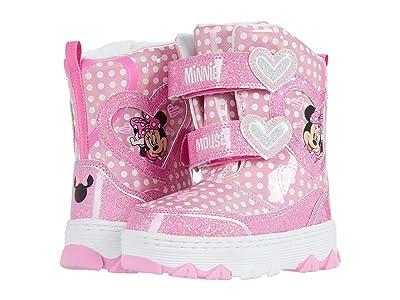 Josmo Kids Minnie Snowboot (Toddler/Little Kid) (Pink) Girls Shoes