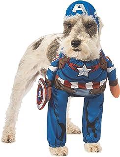 Rubie's Marvel Walking Captain America Pet Costume, Large