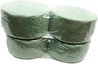Greenbrier 4 Piece Round Green Floral Foam