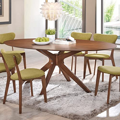 Excellent Oval Dining Table Amazon Com Cjindustries Chair Design For Home Cjindustriesco