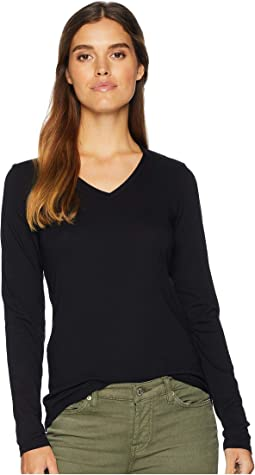 Ultra Jersey Long Sleeve Basic V-Neck