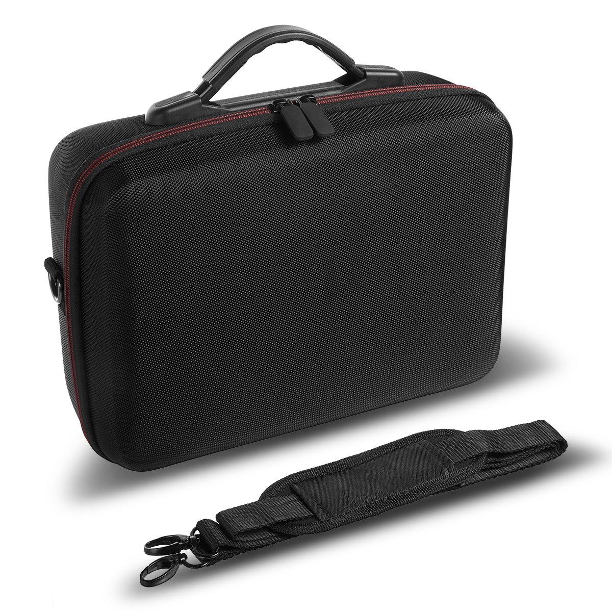 DJI Tello Carrying Case Hard EVA Travel Case Waterproof Portable Bag with Gamesir T1D Gamepad Remote Controller