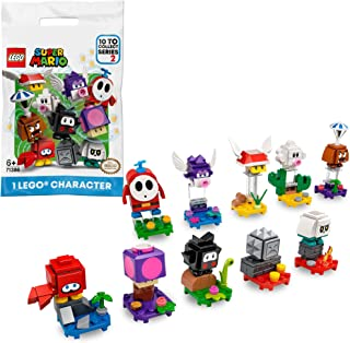 LEGO 71386 Super Mario Character Pack Series 2, Collectible Toy, 1 Unit (Style Picked at Random)