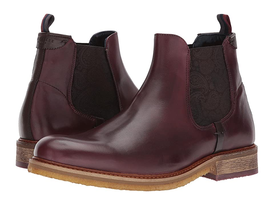 Ted Baker Bronzo (Dark Red Leather) Men