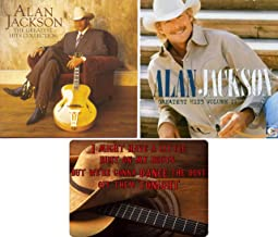Alan Jackson: Greatest Hits Volume 1-2 CD Collection with Bonus Art Card