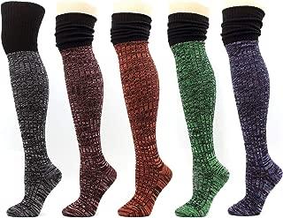 Winter Over The Knee High Socks Thick Leg warmer Leggings Boots Women