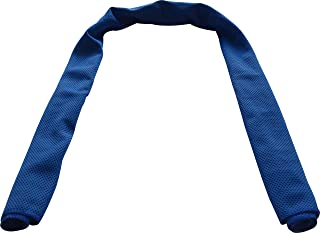 """BalanceFrom All-Purpose Evaporative Easy and Instant Cooling Towel, 40"""" x 12"""" (Navy)"""