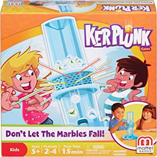 Mattel Games 37092 Kerplunk Game, 10.00 x 12.00 x 3.00 Inches