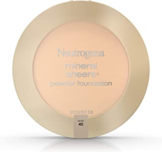 Neutrogena Mineral Sheers Powder Foundation, Nude 40, 0.34 Ounce