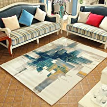 WSJTT Rugs, Pads & Protectors Area Rugs Soft Modern Indoor Large Rug for Bedroom Livingroom Dorm Kids Room Home Decorative...