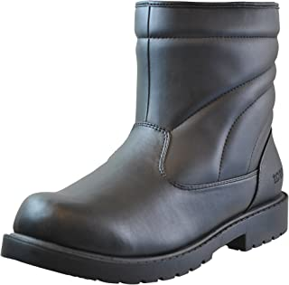 Mens Snow Side Zip Cold Weather Boot (Also Available in Wide Width)