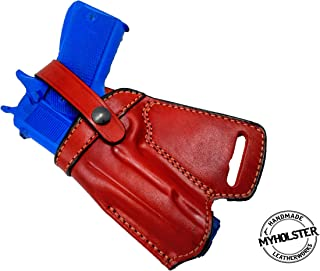 1911 5-Inch Colt, Kimber, para, Springfield SOB Small of Back Leather Holster - Choose Your Hand and Color