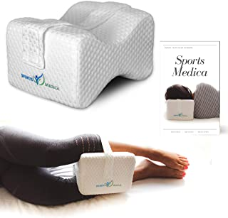 comprar comparacion Almohada para las rodillas desarrollada por doctores - Cuña ortopédica viscoelástica para dormir de lado, ciática, dolor d...