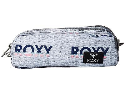 Roxy Da Rock Pencil Case (Heritage Heather Gradient Letter) Wallet
