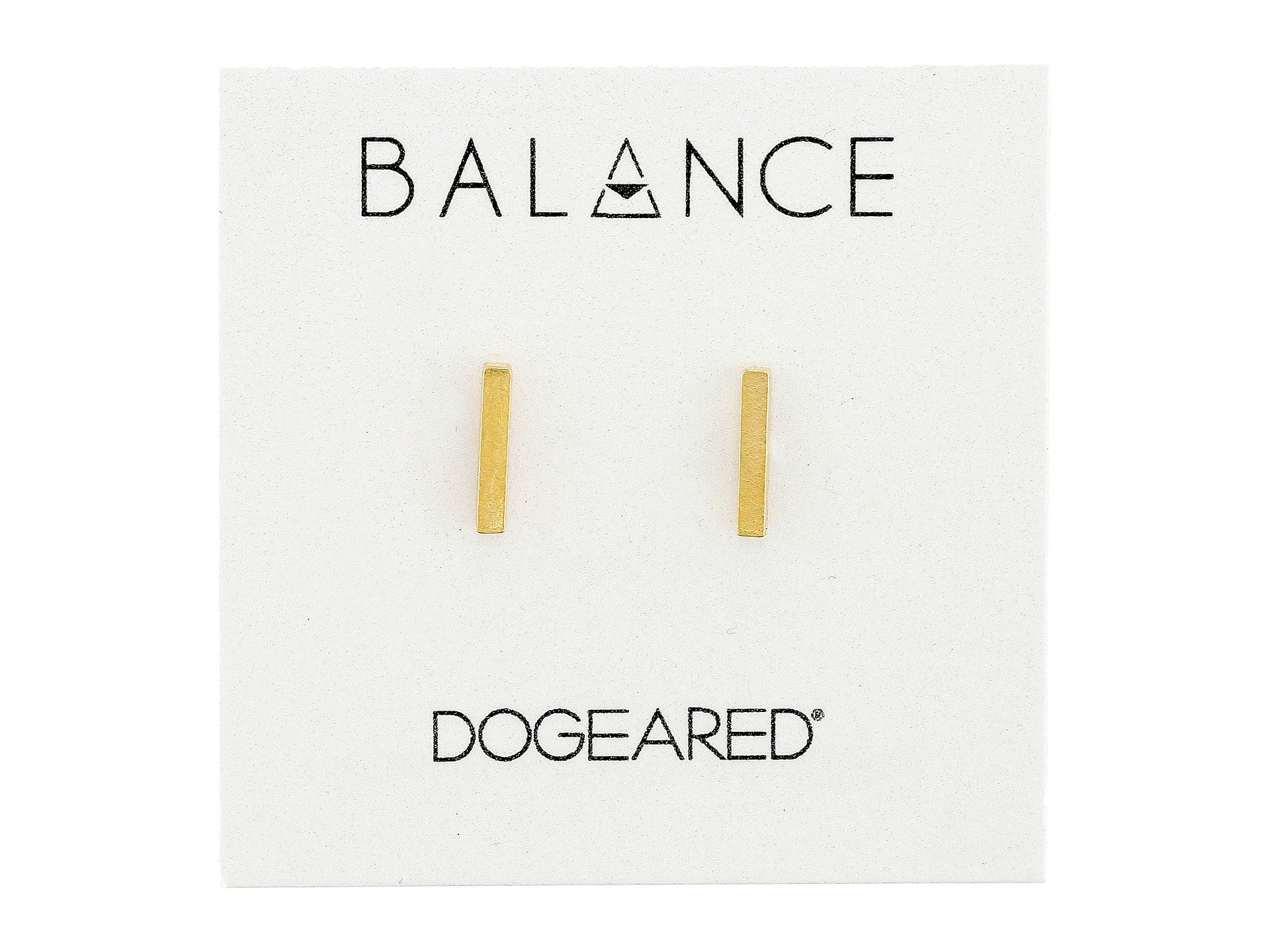 gold earrings studs disc balance stud basement flat dipped bar earring wall