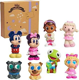 Disney Junior Music Lullabies Bath Toy Set, Includes Mickey Mouse, Minnie Mouse, Bingo, Rolly, Doc McStuffin, Lambie, Kerm...