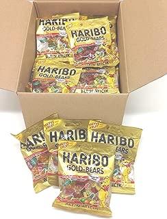 Haribo Gummi Candy, Gold Bears, 80g x 24, Halal, 24 Packs, Altin Ayicik