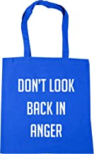 HippoWarehouse Don't look back in anger Tote Shopping Gym Beach Bag 42cm x38cm, 10 litres