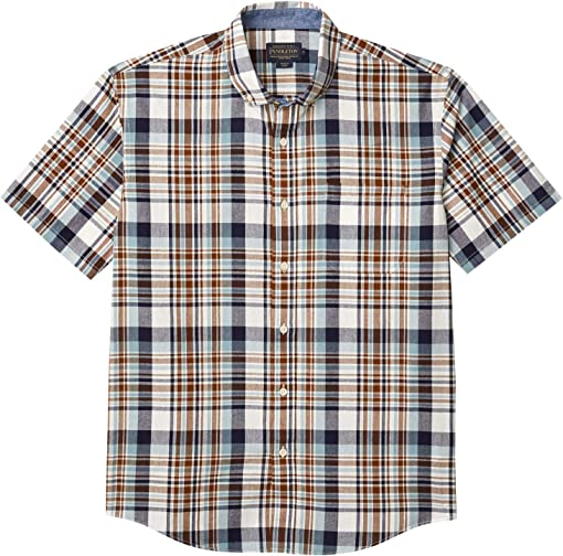Blue/Brown Plaid