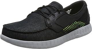 Skechers 斯凯奇 ON-THE-GO 男 ON-THE-GO GLIDE 轻质休闲船鞋 53773