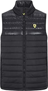 Scuderia Ferrari Men's Padded Vest Black