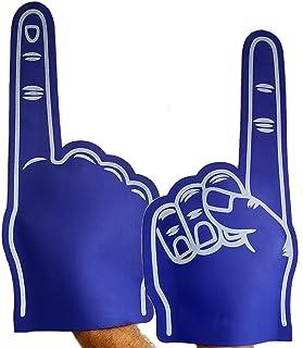 Fun Fan Line - Pack x3 Mains géantes en caoutchouc EVA (22 x 47 cm). Accessoire idéal pour les fêtes, les événements sport...