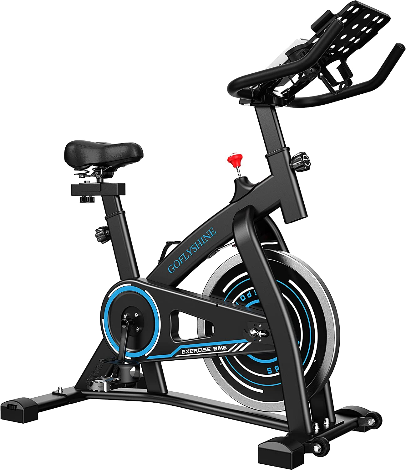 GOFLYSHINE Now on sale Gym Bike Indoor Cycling Card 35% OFF for Home Stationary