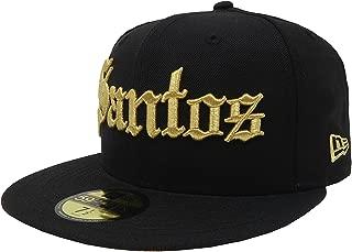 New Era 59Fifty Hat Santos Laguna Soccer Club Mexican League Black with Gold Gorra