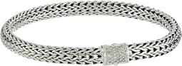 Classic Chain 6.5mm Bracelet with Diamonds