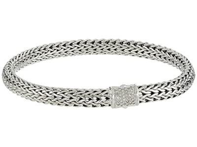 John Hardy Classic Chain 6.5mm Bracelet with Diamonds (Silver) Bracelet