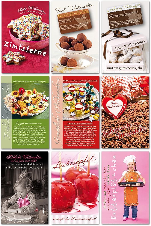 45 Grußkarten hochwertige Weihnachtskarten Weihnachten Weihnachten Weihnachten Rezepte B077HVZP9N   | Auf Verkauf  6517a0