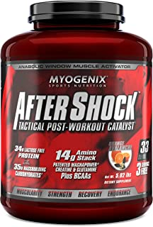 Myogenix AfterShock Tactical Post-Workout Catalyst - Orange Avalanche - 5.82 lbs