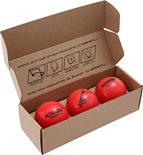 "Rukket 3pk Weighted Baseballs / Softballs | Heavy Balls for Hitting, Batting, Pitching Practice (1lb. /16oz. 3"" diameter)"