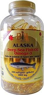 Alaska Deep Sea Fish Oil Omega-3, 300 Softgels, Bill Natural Sources
