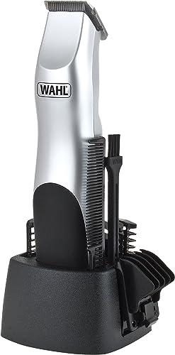 Wahl Beard Trimmer Men, Groomsman 9906 Hair Trimmers for Men, Stubble Trimmer, Male Grooming Set, Battery Powered