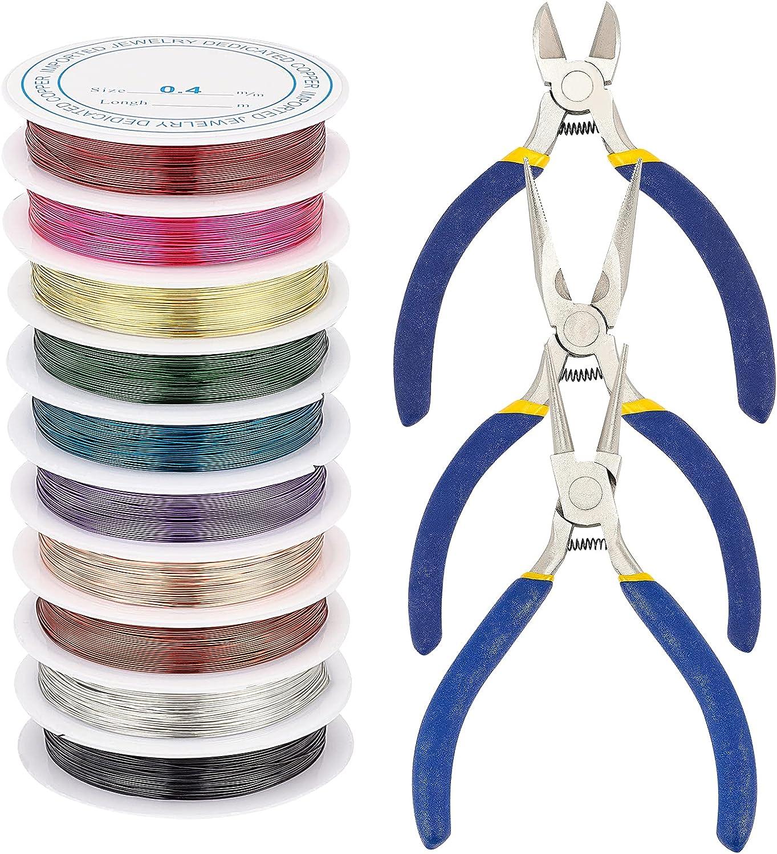PH Surprise price PandaHall Jewelry Pliers Wire of Flat Nose 3 Set SALENEW very popular