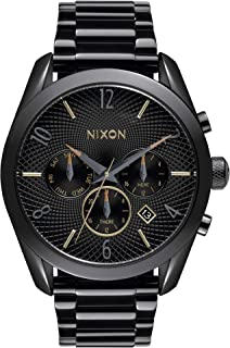 Nixon Womens Chronograph Quartz Watch with Stainless Steel Strap A366-1616