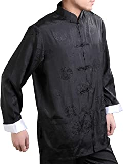 Men's Enter The Dragon Chinese Clothing Shirt with Free Matching Pants
