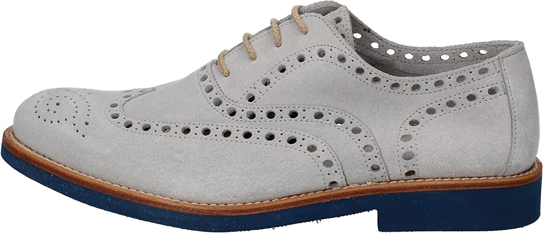 DI MELLA Oxfords-shoes Mens Suede Grey