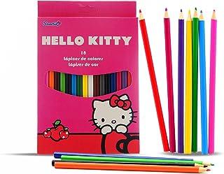 Hello Kitty 121406 Box of 18 Pencils, Multicoloured, One Size