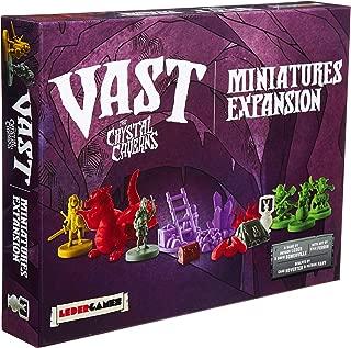 Leder Games Vast: Crystal Caverns: Miniatures Boardgame Expansion