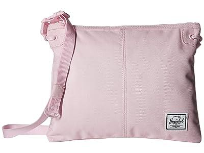 Herschel Supply Co. Alder (Pink Lady Crosshatch) Cross Body Handbags