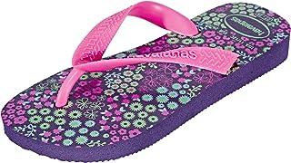 Havaianas Flores, Chanclas Unisex niños, Morado (New Purple), 27/28