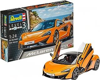 Revell- MC Laren Maqueta McLaren 570S, Kit Modelo, Escala 1:24 (07051), 19,0 cm de Largo (