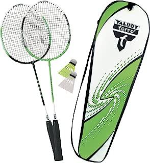Talbot Torro Set de Badminton 2-Attacker Junior Jeunesse Unisexe Vert-Cyan Taille Unique
