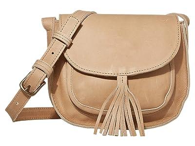 ABLE Maria Tassel Crossbody (Fog) Shoulder Handbags