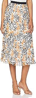 French Connection Women's AFRA CRINKLE PLEATED MIDI SKRT Skirt