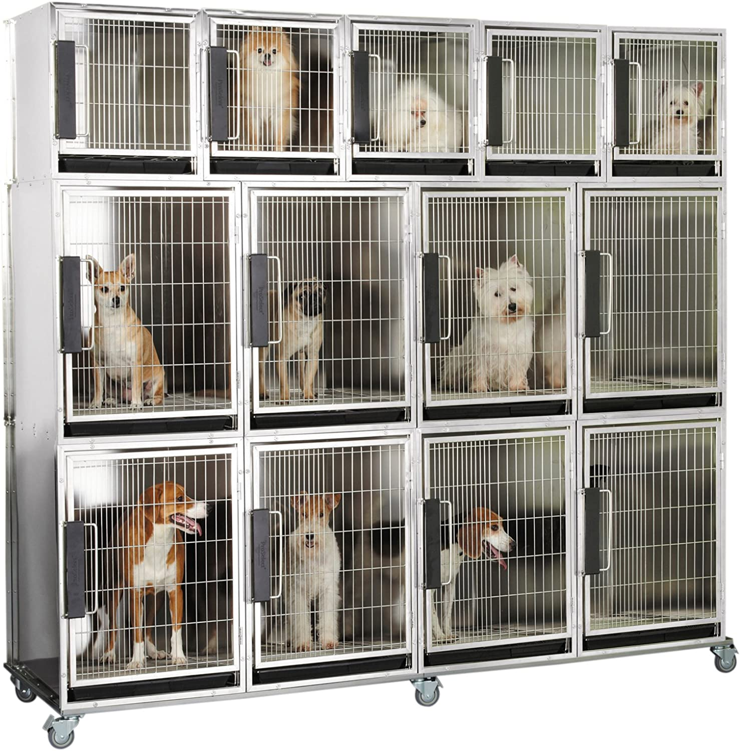 Ppinklect Mod Kennel Cage for Pets, 13Unit