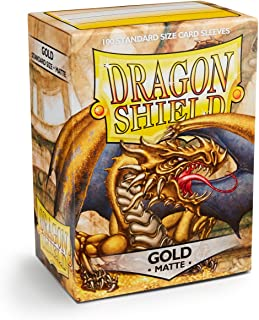 Sleeves: Dragon Shield Matte Gold